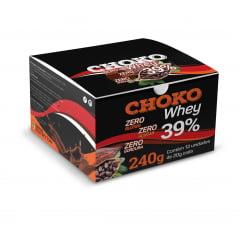 Choko Whey Chocolate ao leite 30% com Whey Protein 12 tabletes de 20g cada - Mais Nutrition
