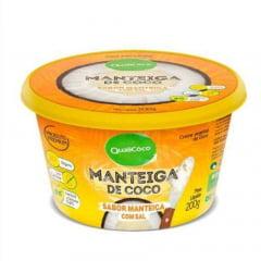 Manteiga de Coco Qualicoco 200g 200 gramas Natural com sal