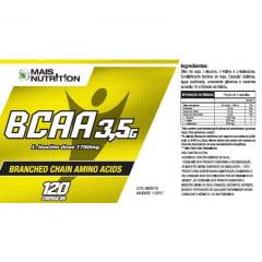 BCAA 3,5 Softgel - 120 Capsulas