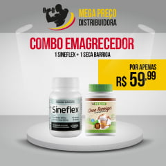 1 Sineflex 150cp + 1 Seca Barriga 60cp + 1 Centro Vita 60cp