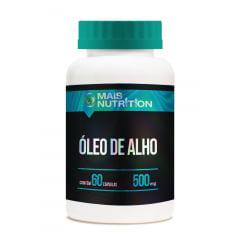 10 Oleo de Alho 60 capsulas Mais Nutrition