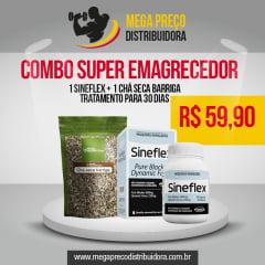 Sineflex + Chá Seca Barriga - Combo Super Emagrecedor