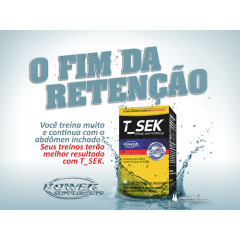 T Sek 120g Diuretico Power Supplements