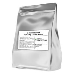 D-Ribose D Ribose 1Kg 1 kilo Quilo Refil - Mais Nutrition
