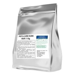 Psyllium 1Kg 1 Kilo Quilo Refil Psillium Mais Nutrition