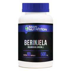 Berinjela 500mg 60 Capsulas Mais Nutrition