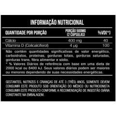 Calcio + Vitamina D3 250mg 60 capsulas Mais Nutrition