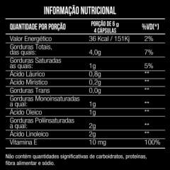 Oleo de Cartamo + Oleo de Coco + Vitamina E 1000mg 60 caps