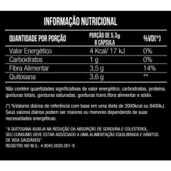 Quitosana Lipo 662mg 50 cápsulas  – Mais Nutrition
