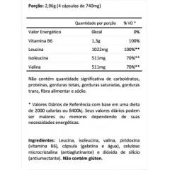 AMINO BCAA 2044 90 CAPSULAS INTEGRALMEDICA