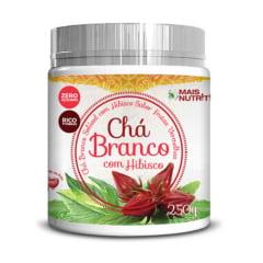 Chá Branco C/ Hibisco 250g - Sabor Frutas Vermelhas WVegan