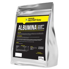 Albumina 1Kg 1 Quilo Kilo sem sabor Mais Nutrition
