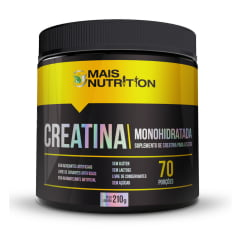Creatina Monohidratada 210g - Mais Nutrition