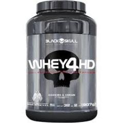 Whey Protein 4HD 907 gramas Black Skull DE R$179,90 POR R$89,90