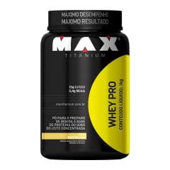 Whey Pro 1Kg Max Titanium