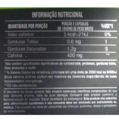Cafeina 210mg 60 cápsulas