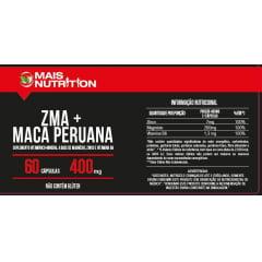 6 potes ZMA + Maca Peruana 400mg 60 capsulas cada