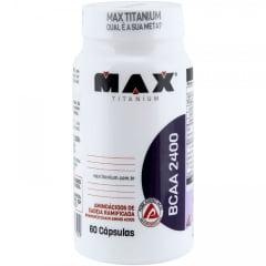 DE R$150,00 POR R$79,90 5 BCAA 60 capsulas Max Titanium
