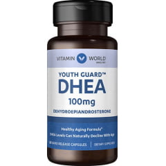 DHEA 100mg 60 capsulas Vitamin World