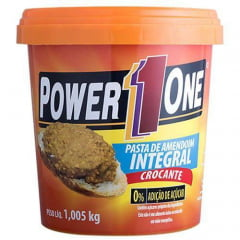 Power One Pasta de Amendoim Crocante1,05Kg
