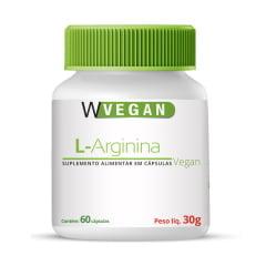 L Arginina 500mg 60 capsulas