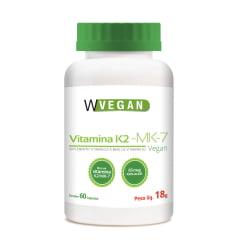 Vitamina K2 MK7 65mcg 60 capsulas WVegan
