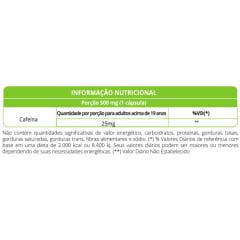 Guarana 500mg 60 capsulas WVegan
