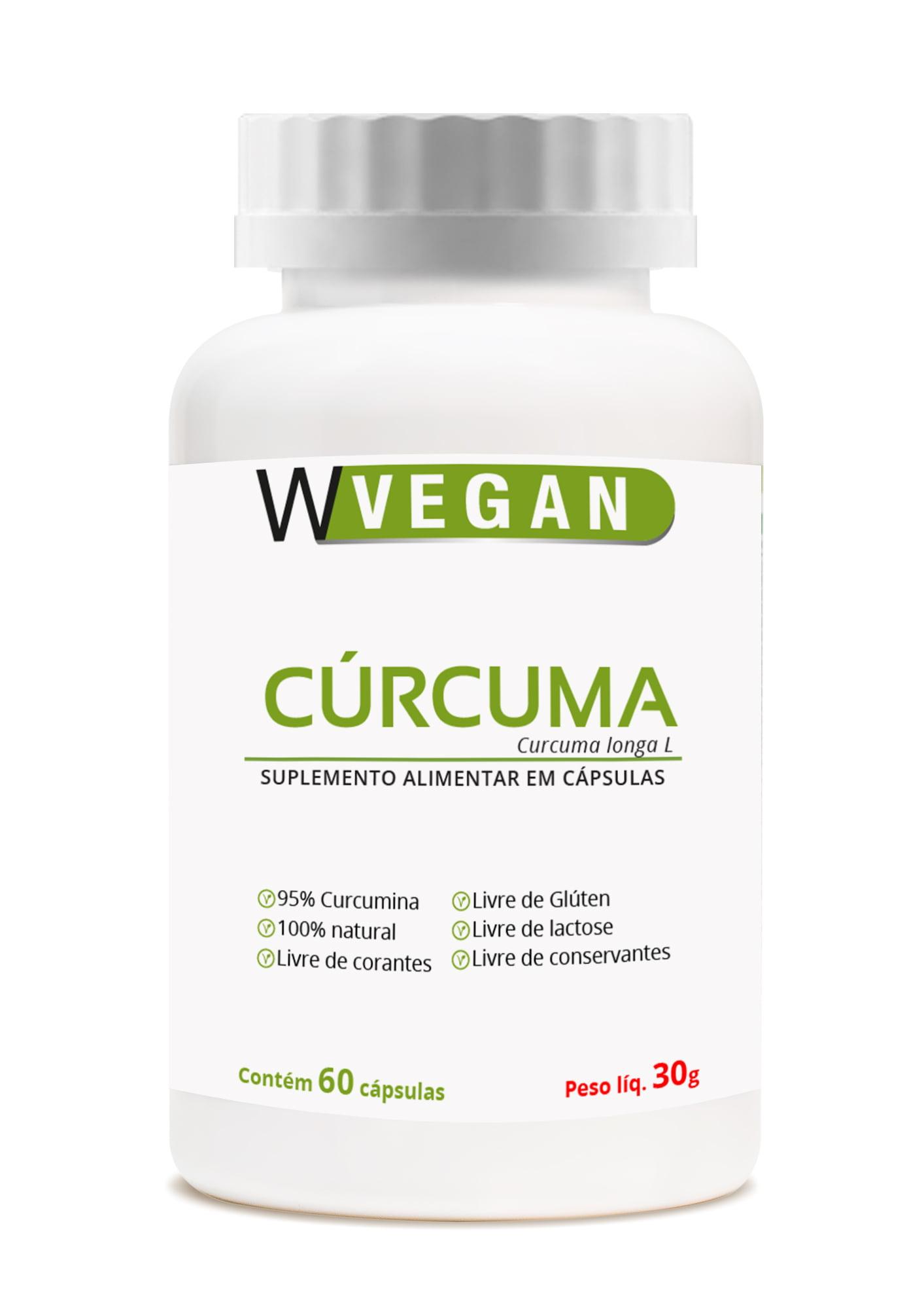 Curcuma 500mg 60 capsulas WVegan