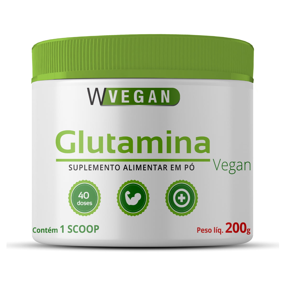 Glutamina 200g WVegan
