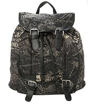 Mochila mapa do maroto harry potter