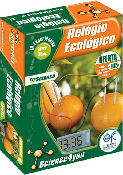 Relógio Ecológico Science4you