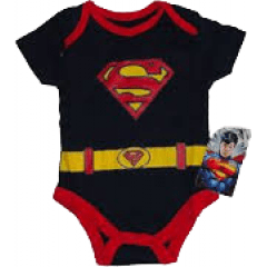 Body Baby Superman uniforme