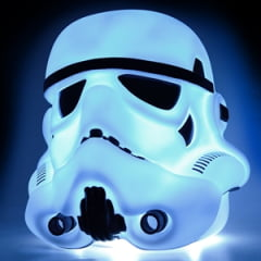 Luminaria Stormtrooper, luminaria 3d star wars