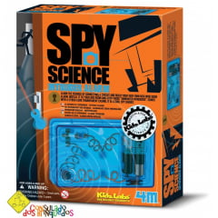 Spy Science - Alarme de Invasão