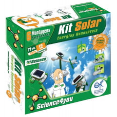 Kit Solar 6 em 1 Science4you