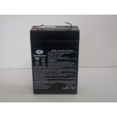 BATERIA GET POWER VRLA 6V 2,8AH