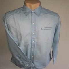 Camisa Jeans  Manga Longa Bhoro                                                                                                                                                                 ( Referência  :   0042 )