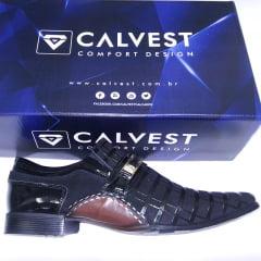 Sapato Social CALVEST                                                                                                                                     ( Referência  :  1930C592)
