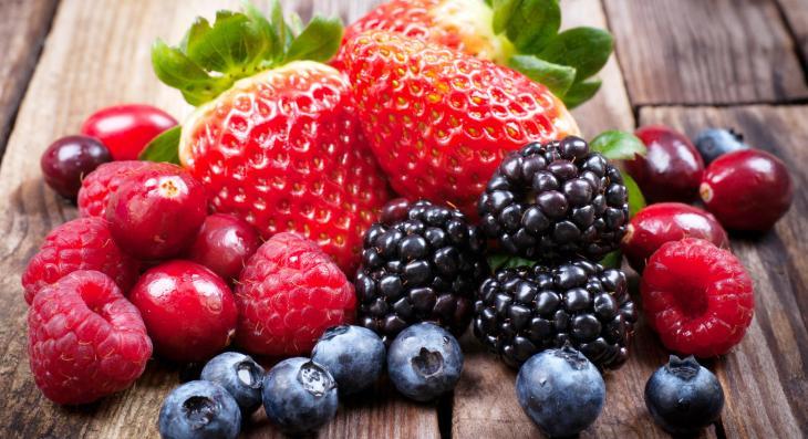 Kit frutas vermelhas - 9 líquidos