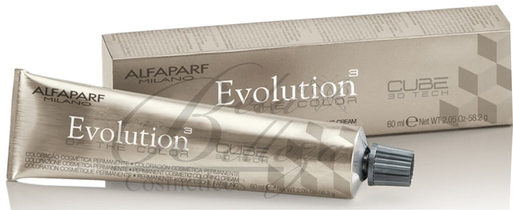 Tinta Evolution Alfaparf 60ml 7.31 Louro Medio Dourado Cinza