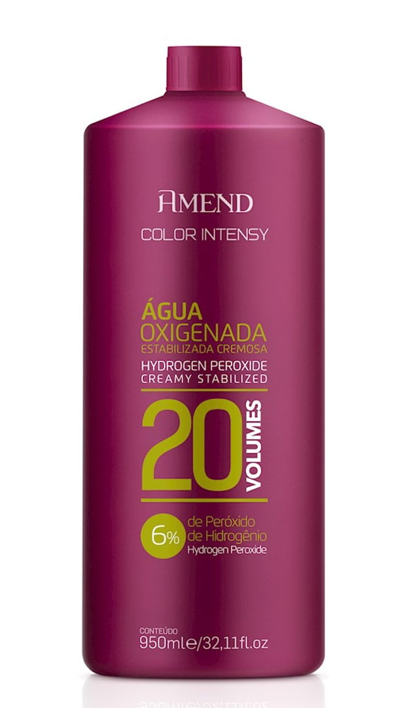 Agua Oxigenada Amedn Color Intensy 950ml 20 Volumes