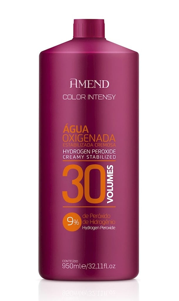 Agua Oxigenada Amedn Color Intensy 950ml 30 Volumes