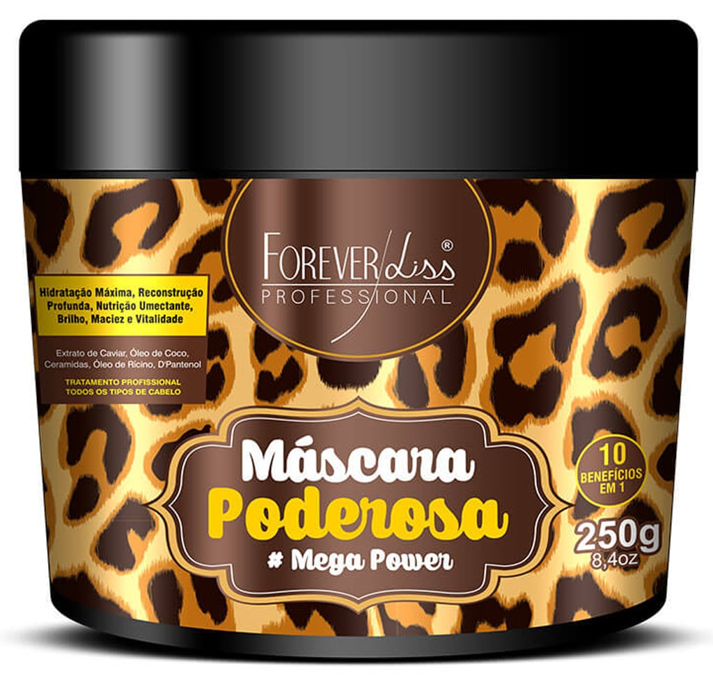 Máscara Poderosa Forever Liss 250g Mega Power
