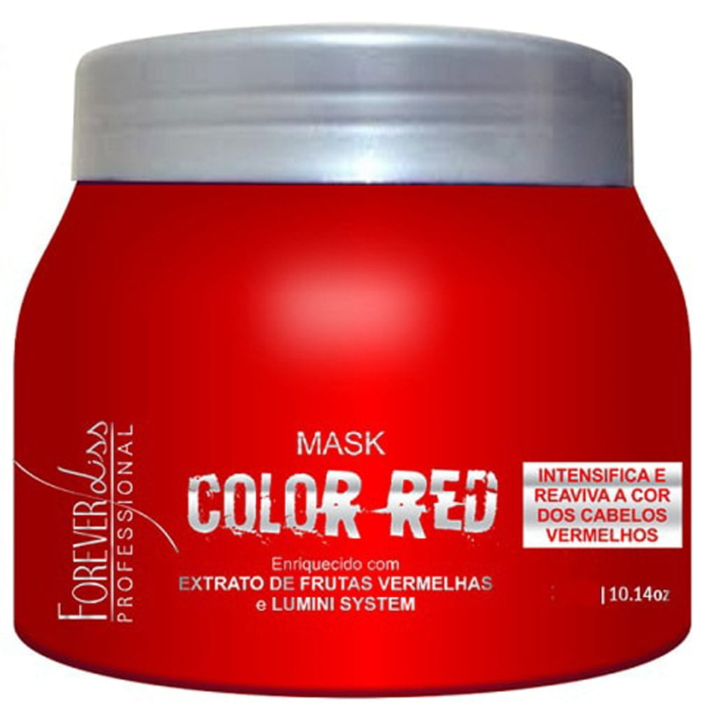 Máscara Matizadora Color Red Forever Liss 250g