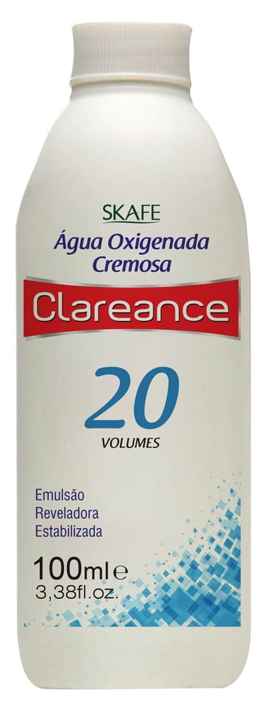 Água Oxigenada Clareance Skafe 100ml 20 Volumes