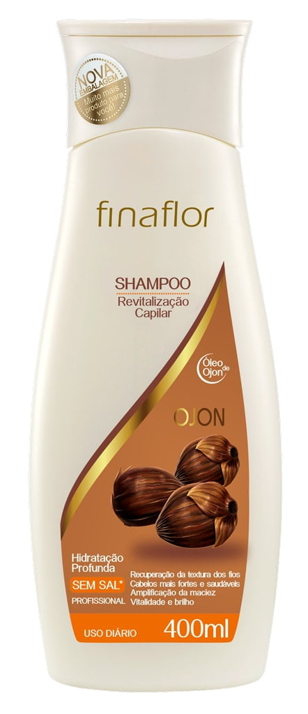 Shampoo Fina Flor 400ml Ojon