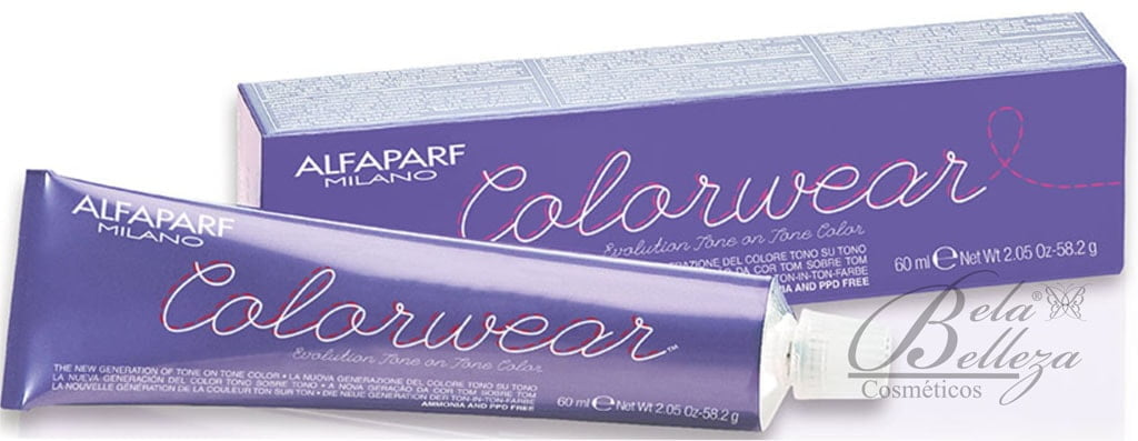 Tonalizante ColorWear Alfaparf 60ml 1 Preto