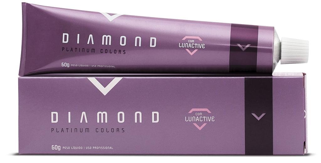 Tonalizante Diamond Platinum Colors Felithi 60g 9.81 Louro Ultra Claro Perola