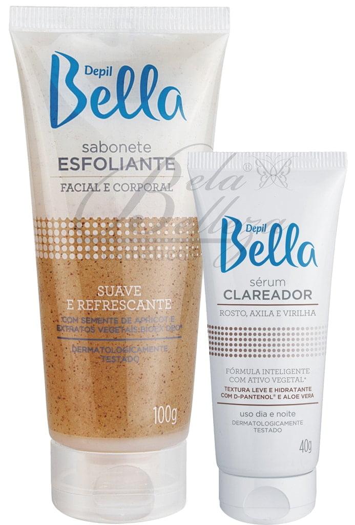 Kit Clareador de Manchas Depil Bella (40g + 100g)
