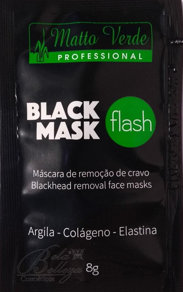 Máscara Preta Removedora de Cravos Matto Verde 8g Black Mask